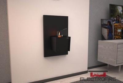 Биокамин Kronco mini wall black