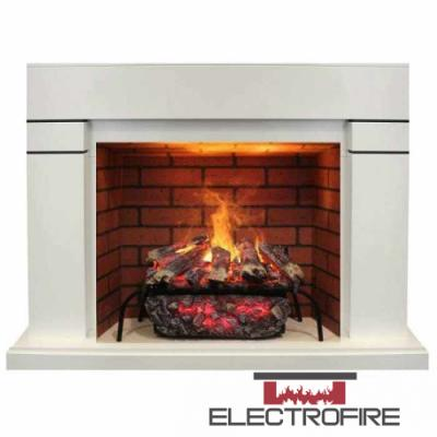Каминокомплект Real Flame Lindelse WT с 3D Silva Log 26