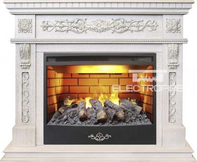 Каминокомплект Real Flame Estella WT с очагом 3D Firestar 25,5