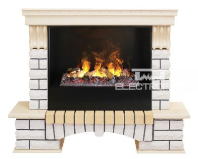 Каминокомплект Real Flame Country WT с очагом DN 3D Cassette 630