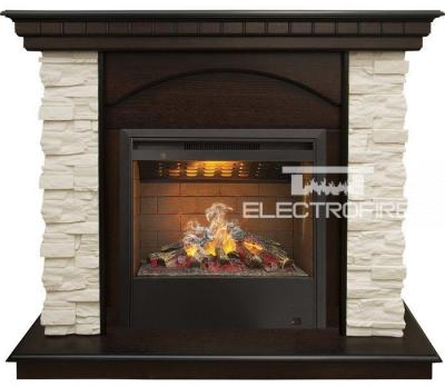 Каминокомплект 3D Real Flame Elford Corner с Helios 3D